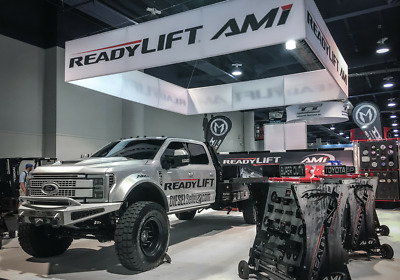 2017 Ford F-450 Ultimate Platinum 2017 Ford F450 LIGHTNING SEMA Alumiduty Crew Cab 4x4 CUSTOM FLATBED