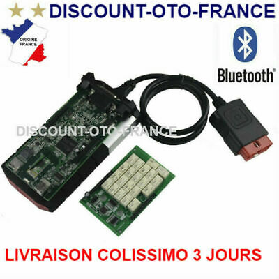 Interface Diag Auto Multimarque Delphi DS150 Pro Bluetooth OBD2 - en Français