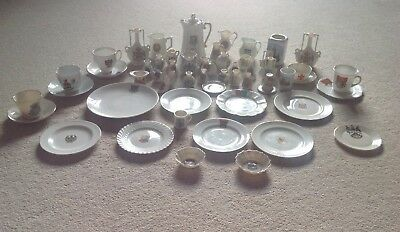 Job-lot Collection of Assorted Crested Ware - Over 45  Pieces  in good condition