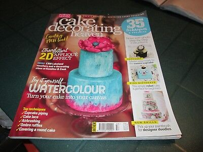 Cake Decorating Heaven Magazine Sept / Oct 2016  Techniques And Projects