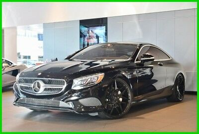 2015 Mercedes-Benz S-Class S 550 2015 S 550 Used Turbo 4.7L V8 32V Automatic 4MATIC Coupe Premium