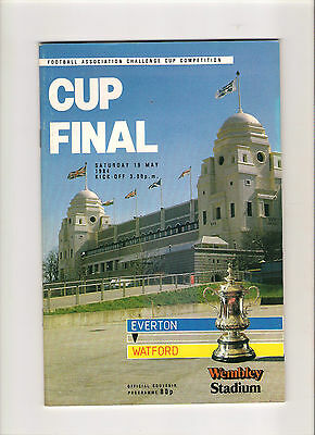 1984  FA Cup Final--------Everton v Watford