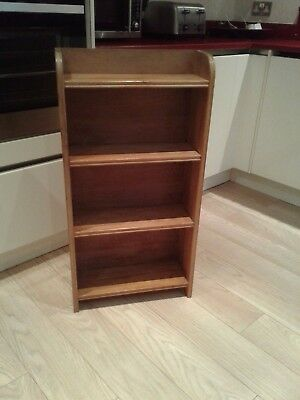 Antique small solid pine bookcase