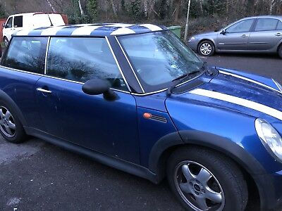 Mini Cooper one bought salvaged and repaired runs well water leak