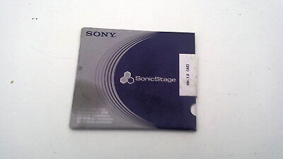 sony sonicstage ver 1.5 ae  unopened