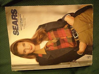 Vintage 1992-1993 SEARS FALL & WINTER ANNUAL CATALOG REFERENCE BOOK