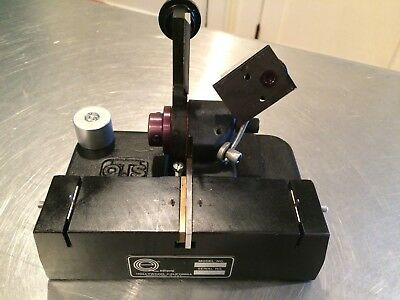 QTS EDIQUIP 16MM MODEL 1060-4 straight film splicer