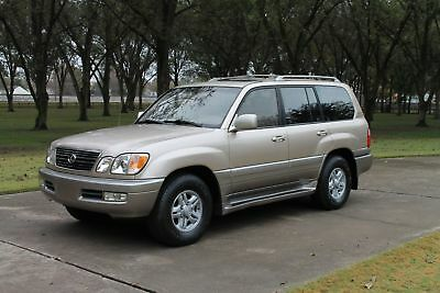 1999 Lexus LX 470 1999 Lexus LX 470 Luxury SUV Low Miles Michelin Tires Nakamichi Sound