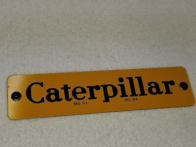 Caterpillar  Metal Sign  - New Made By Ccm Models