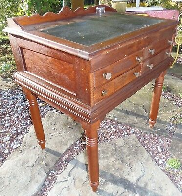 Antique Sewing Desk Willimantic Six Cord Thread Spool Factory