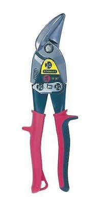 Stanley FatMax Offset Left Curve Aviation Snips 2-14-567 Red