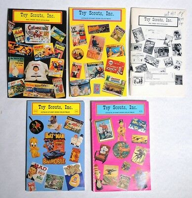 P040. Lot of 5: TOY SCOUTS INC Sale Order Catalog #20-22 Baby Boom (1990s)