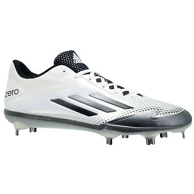 free shipping d42d1 332a1 ... purchase cheap ab878 47231 Adidas Mens Adizero Afterburner 2.0 Metal  Baseball Cleats White Grey 8 D ...