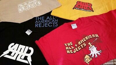 All American Rejects size adult large T Shirt collection