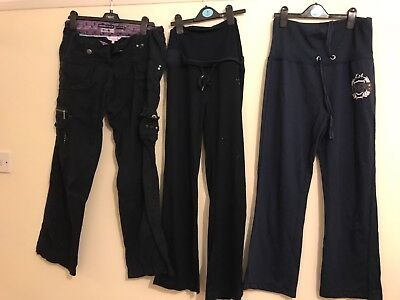 maternity size 12 track pants and combats bundle
