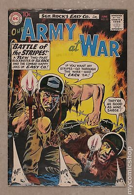 Our Army at War #95 1960 VG+ 4.5