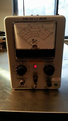 Tektronix Type 130 L-C Meter Inductance Capacitence Tester