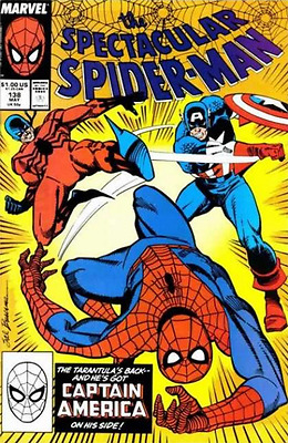 The Spectacular Spider-Man #138 (1988) Marvel Comics 1St Appearance Of Tombstone