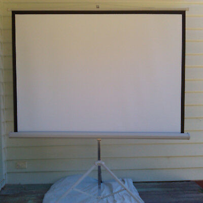 Video Projector Screen Polyester 70 Inch Cinema Home Theater Projection
