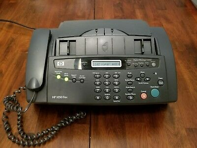 HP 1050 Fax Copier Combo Phone Message Center