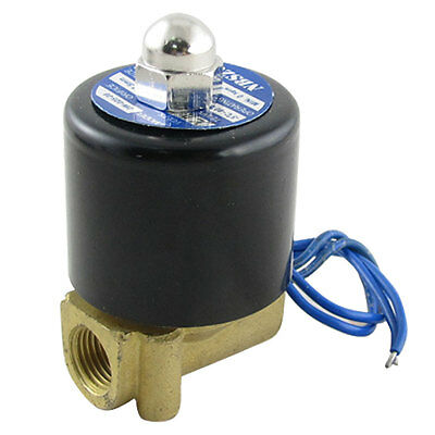 "12V DC 1/4"" 2W025-08 Electric Solenoid Valve Water Air N/C Gas Water Air"