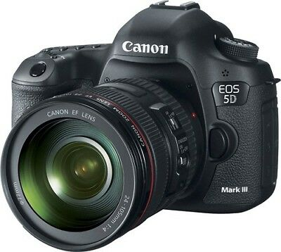 Canon EOS 5D Mark III DSLR Camera KIT with EF 24-105mm f/4L IS USM zoom Lens