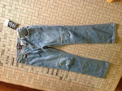 Ladies Torque  motorcycling Jeans kevlar lined size M-new with tags