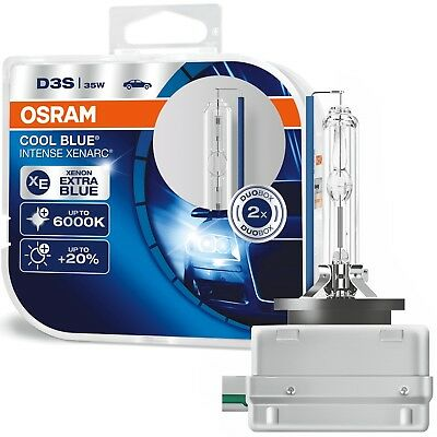 OSRAM XENARC COOL BLUE INTENSE D3S Xenon 35W PK32d-5 DUO 6000K