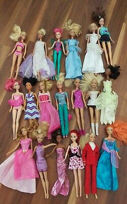 20 Barbies with Accessories