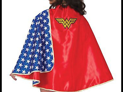 Deluxe Wonder Woman.   Wonderwoman Adult Cape Costume Accessory