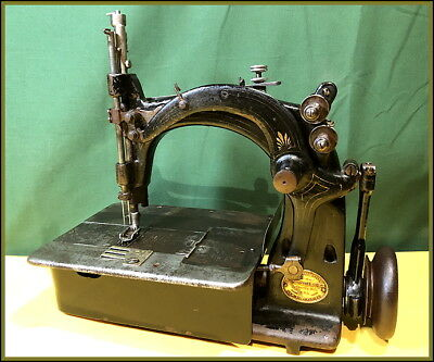 Rare Antique Union Special ~Safe Elastic Stitch~ Small Industrial Sewing Machine