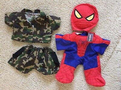 Build a bear clothing - genuine spiderman outfit
