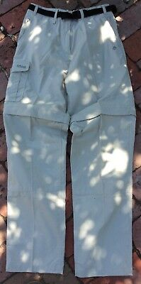 Craghoppers Convertible Trousers Plus Walking Pants...size 8-10