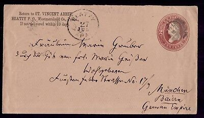 USA GERMANY Franked Beatty Pennsylvania 27/7/86 To Munchen  VF Cover