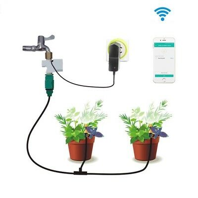 Garden Watering Timer Phone Control Automatic Wifi Sockets Electronic System