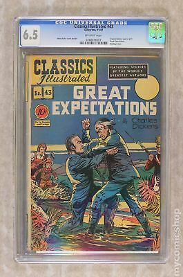Classics Illustrated 043 Great Expectations #1 1947 CGC 6.5 0768018007