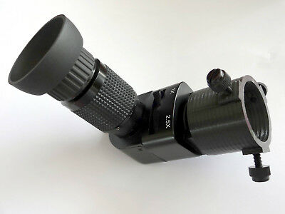 Seagull x2.5 right-angle-viewer adapter for Skywatcher and iOptron polarscopes