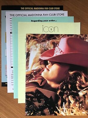 Madonna - Official Madonna Fan Club Icon Magazine Issue 35