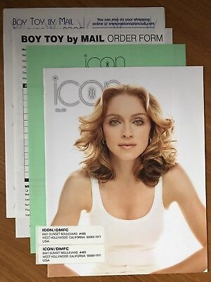 Madonna - Official Madonna Fan Club Icon Magazine Issue 34