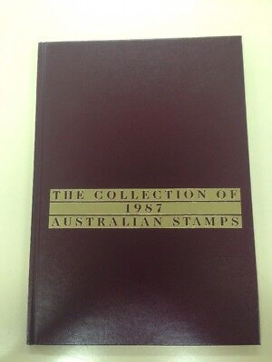 The Collection Of 1987 Australian Stamps ALBUM ONLY - NO STAMPS