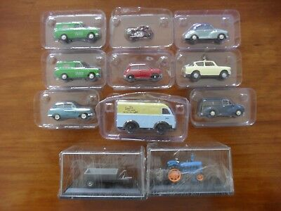 11 Assorted Vehicles - OO Gauge