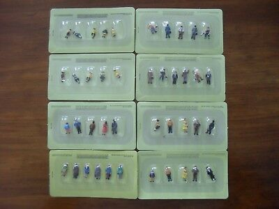 8 Sets of Various People - HO/ OO Gauge