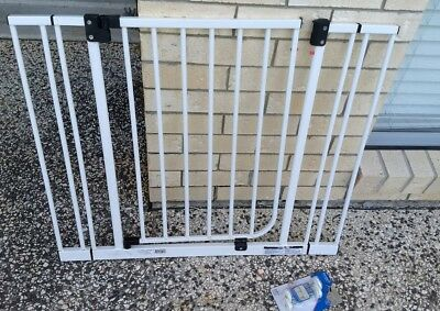 Target Metal Safety Gate with Extensions