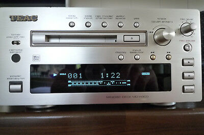TEAC MD-H300 Minidisc Deck complete with Remote Control and Owners Handbook