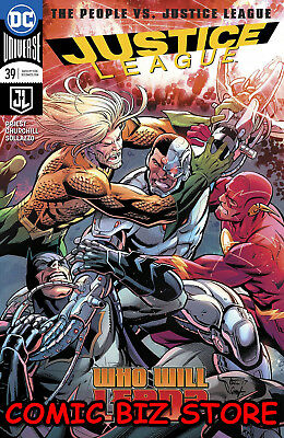 Justice League #39 (2018) 1St Printing Dc Universe Rebirth Bagged & Boarded