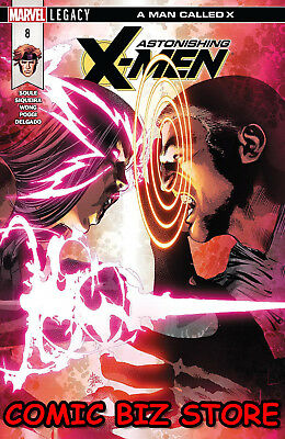 Astonishing X-Men #8 (2018) 1St Printing Bagged & Boarded Marvel Legacy Tie-In