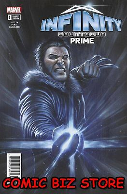 Infinity Countdown Prime #1 (2018) 1St Print Logan Golds Infinity Variant Cover
