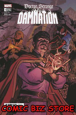 Doctor Strange Damnation #1 (Of 4) (2018) 1St Printing Connecting Variant Cover