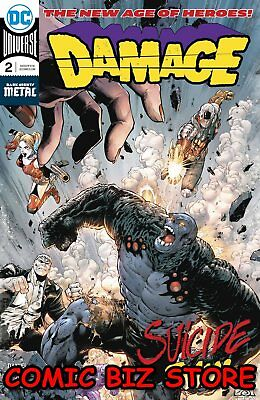Damage #2 (2018) 1St Printing Dark Nights Metal Tie-In Dc Universe Batman
