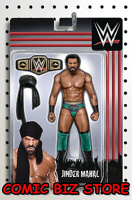 Wwe #14 (2018) Unlock Action Figure Variant Cover Bagged & Boarded Boom